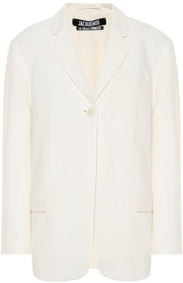 Jacquemus La Veste Moyo single-breasted blazer