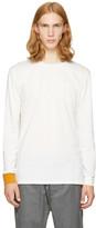 3.1 Phillip Lim White Long Sleeve Double T-Shirt