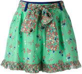 Manoush floral print shorts - women - Silk - 36