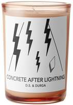 D.S. & Durga Concrete After Lightning Candle 200g