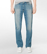 Calvin Klein Jeans Slim Straight Silver Bullet Jeans