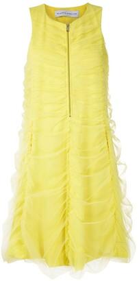Gloria Coelho draped tulle dress