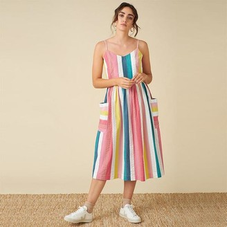 Emily And Fin Bree Summer Rainbow Dress - 8