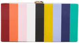 Milly Rainbow Box Clutch