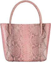 Nancy Gonzalez Python Square Shopper Tote Bag, Pink 63