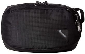 Pacsafe Vibe 100 Anti-Theft Hip and Crossbody Pack (Jet Black) Cross Body Handbags