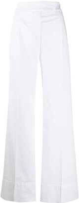 No.21 High-Waisted Wide-Leg Trousers
