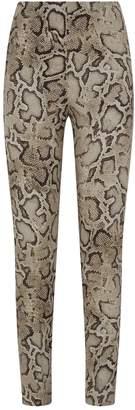 Pinko Snake Print Trousers
