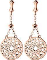 Links of London Timeless 18ct rose-gold vermeil earrings