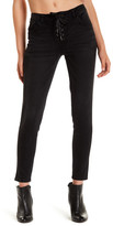 Jolt Lace-Up Skinny Jeans (Juniors)