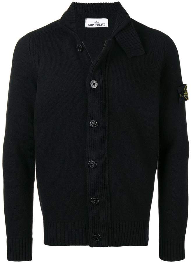 Stone Island button up cardigan
