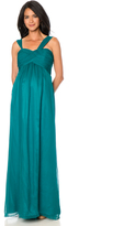 A Pea in the Pod Seraphine Bust Ruching Maternity Gown