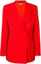 Stella McCartney double breasted blazer - women - Cotton/Viscose/Wool - 40