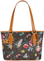 Giani Bernini Floral Signature Tote, Only at Macy's