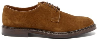 Brunello Cucinelli Suede Derby Shoes - Brown