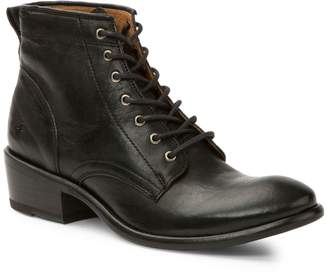 Frye Carson Leather Lace-Up Booties