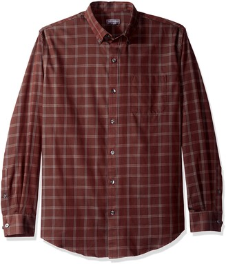 Van Heusen Men's Wrinkle Free Long Sleeve Button Down Twill Shirt