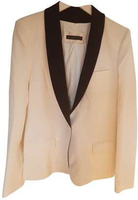 Plein Sud Jeans White Jacket for Women