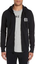 Reigning Champ Men's Logo Print Terry Zip Hoodie