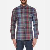 Polo Ralph Lauren Men's Long Sleeved Shirt Blue/Wine