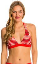 Tommy Hilfiger Swimwear Sailing Stripes Halter Bra Bikini Top 8142668