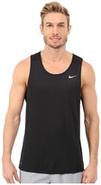 Nike Dri-FIT Miler Running Singlet Men's Workout