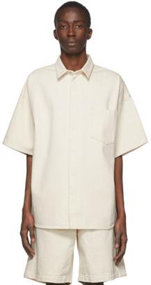 Off-White Jil Sanderand Twill Shirt