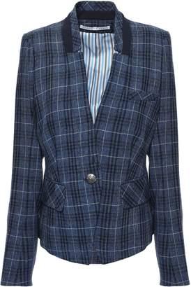 Veronica Beard Farley Wool, Cotton And Linen-blend Blazer