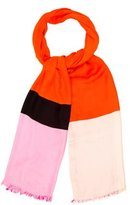 Kate Spade Multicolor Raw-Edge Scarf w/ Tags