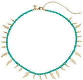 Rebecca Minkoff Tiki Beaded Spike Necklace Necklace