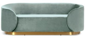 Everly Dunford Sofa Quinn Upholstery Color: Light Blue