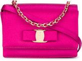 Salvatore Ferragamo mini 'Ginny' shoulder bag - women - Leather/Satin - One Size