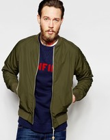 Penfield Bomber Jacket Showerproof In Green