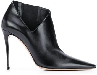 Casadei Cut-Out Detail Boots