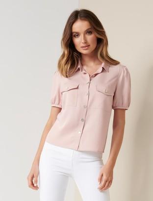 Ever New Elsa Puff Sleeve Shirt