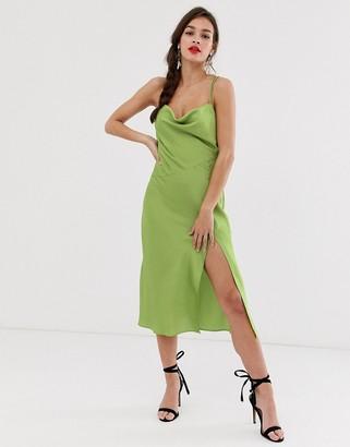 Finders Keepers Cristina midi slip dress