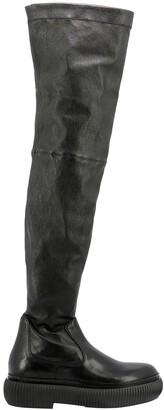 Lanvin Arpege Thigh High Boots