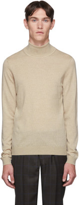 BOSS Off-White Musso Turtleneck