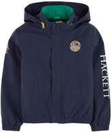 Hackett Logo windbreaker