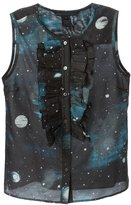 Marc by Marc Jacobs Stargazer ruffled bib sleeveless shirt