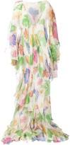 Etro Floral Draped Dress