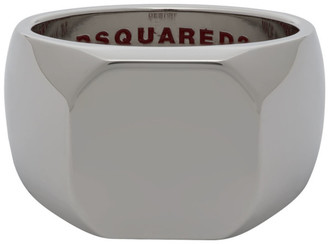 DSQUARED2 Silver Classic Ring