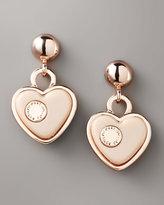 Marc by Marc Jacobs Heart Drop Earrings