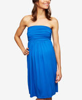 Isabella Oliver Maternity Strapless Ruched Dress