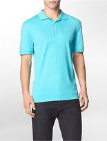 Calvin Klein Mens Classic Fit Liquid Cotton Polo Shirt