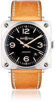Bell & Ross Men's BR S Golden Heritage Watch-BROWN