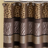Asstd National Brand Safari Stripe Shower Curtain