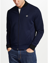 Fred Perry Bomber Jacket, Blue Granite
