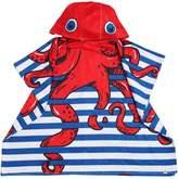 Octopus Printed Hooded Terrycloth Towel