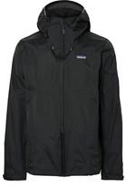 Patagonia Torrentshell Waterproof H2no Performance Standard Ripstop Hooded Jacket - Black